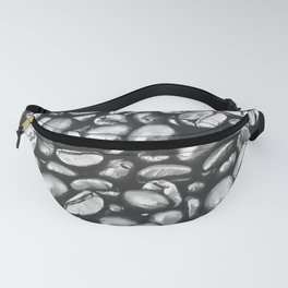 roasted coffee beans texture acrbw Fanny Pack