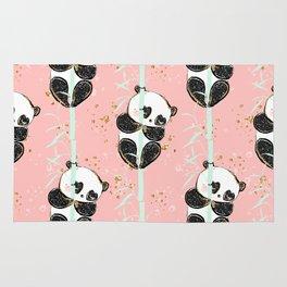 Panda Pattern 07 Rug