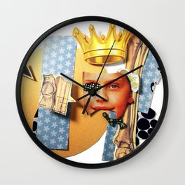 Skin Deep | Collage Wall Clock