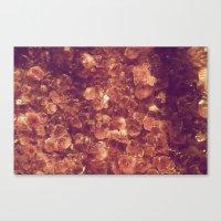 minerals Canvas Prints featuring Minerals by Yuli Scheidt