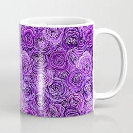 valentines roses in purple / ultraviolet Coffee Mug