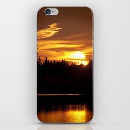 Northern Sunset 001 iPhone Skin