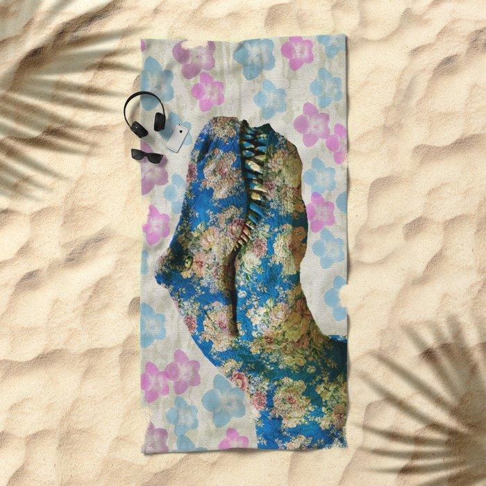 Dinosaur Beach Towel