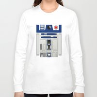 daenerys Long Sleeve T-shirts featuring R2D2 by Smart Friend