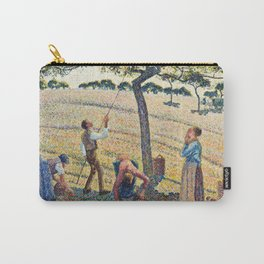 Camille Pissarro - Apple Harvest Carry-All Pouch