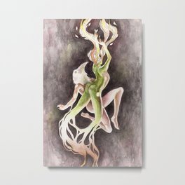 If you can't be my wife, you shall be my tree (Apollo & Daphne) Metal Print