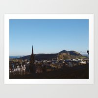 Edinburgh - Nydoa Photography  Art Print