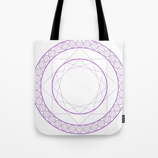 Anime Magic Circle 2 Tote Bag