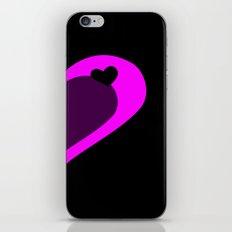 Pink Heart iPhone & iPod Skin