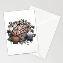 Alchemist D20 Tabletop RPG Gaming Dice Stationery Cards