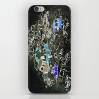 cars iPhone & iPod Skins featuring Cars by Alyssa Dennis
