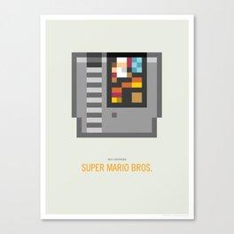 Super Mario Bros. Cartridge Canvas Print