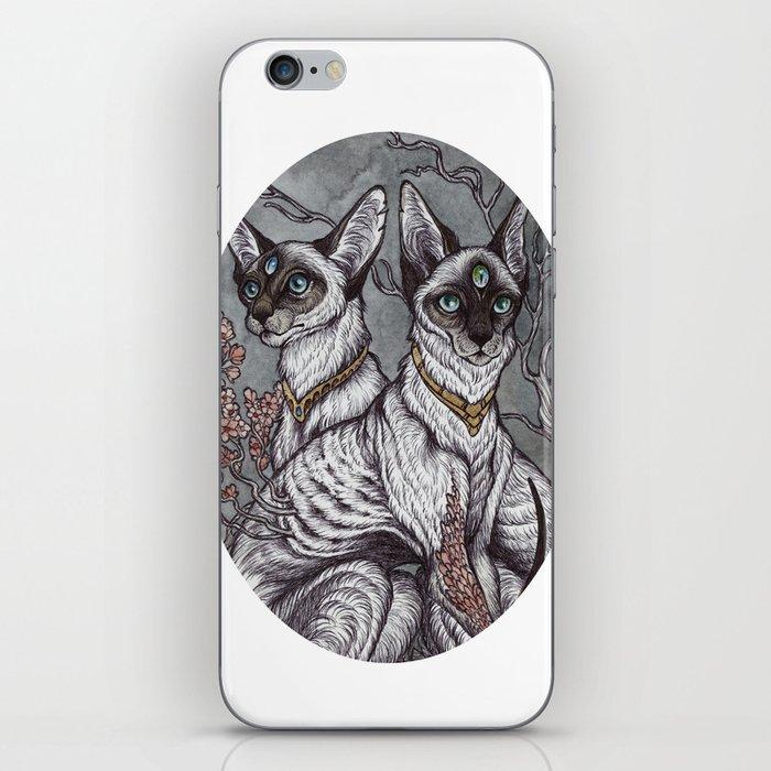 Gift of Sight art print iPhone Skin