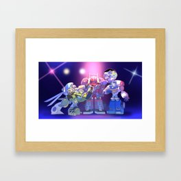 Rescue Bots Framed Art Print