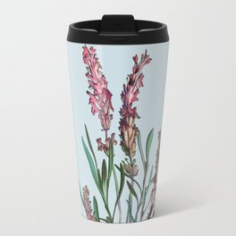 lavender vintage drawing floral spring Travel Mug