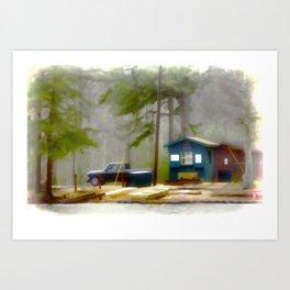 Cheaha Lake Art Print