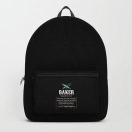 Baker Definition. - Gift Backpack