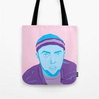 mac Tote Bags featuring Mac Mizzle by Gustavo Barroso