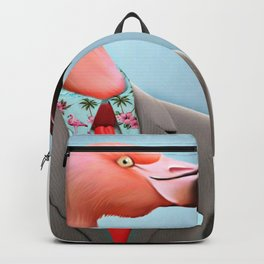 Pink Flamingo's Backpack