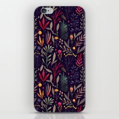 Botanical pattern iPhone & iPod Skin