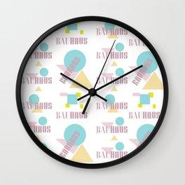 Bauhaus dutch design Wall Clock