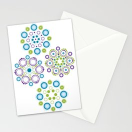 Mandala lotus flowers Stationery Cards
