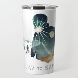 """Snow To Sand"" Official One-Sheet Poster Travel Mug"