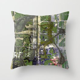 Codex 66 (Or, It's In My Kiss, Again) Throw Pillow