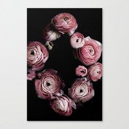 Blooming Geometry 1 Canvas Print