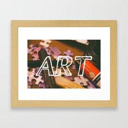 Art Life. Framed Art Print
