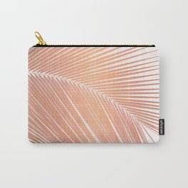 Palm leaf - copper pink Carry-All Pouch