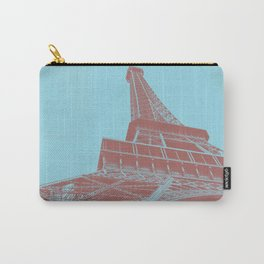 Eiffel Tower Color Pop Carry-All Pouch