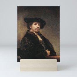 Self-portrait at 34 Mini Art Print