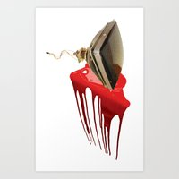 HDD Art Print