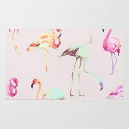 Flamingo Formation #society6 Rug