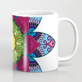 Hearts in Flower Coffee Mug