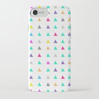 confetti iPhone & iPod Cases featuring Confetti by Leah Flores