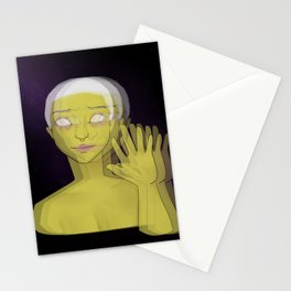 In a 4D World Stationery Cards