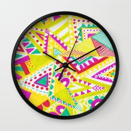 Circus Candy Gemetic Wall Clock