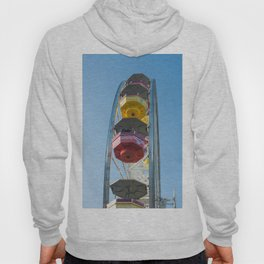 cabins and wheel of Pacific park Hoody
