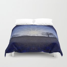 Celestial Clockwork Duvet Cover