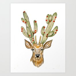 Yes, my deer Art Print