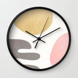 Helping Hand #society6 #buyart Wall Clock