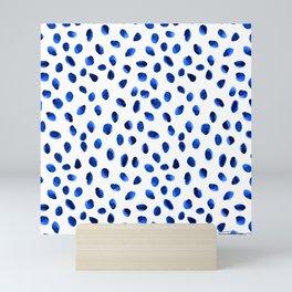 Seeing Blue Spots Mini Art Print