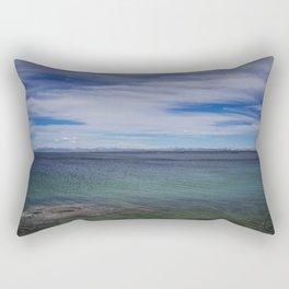 Fishing Cone, West Thumb Geyser Basin, Yellowstone Rectangular Pillow