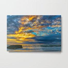 Painted Sky at Sunset, Laguna Beach Metal Print
