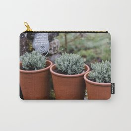 Potted Lavender Carry-All Pouch