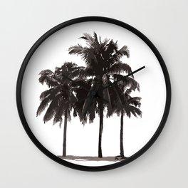 Palms III Wall Clock