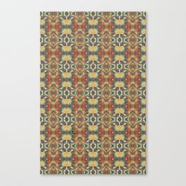 Spinning Glass Pattern Canvas Print