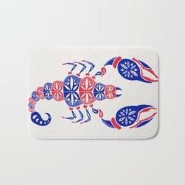Patriotic Scorpion Bath Mat